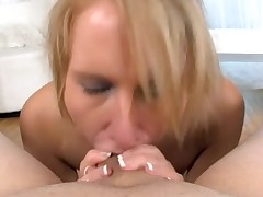 Hawt sweetheart is charming dude with wicked oral job