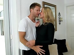 Lengthy-awaited sex makes mother I'd like to fuck moan from bright orgasms